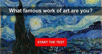 History Quiz Test: What Famous Work of Art Are You?