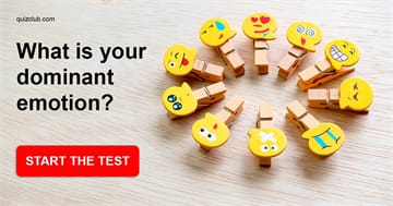 Personality Quiz Test: What Is Your Dominant Emotion?