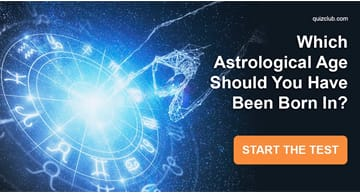 Personality Quiz Test: Which Astrological Age Should You Have Been Born In?