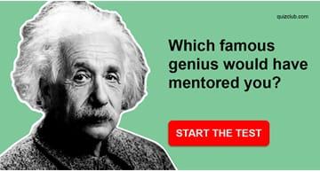 Personality Quiz Test: Which Famous Genius Would Have Mentored You?