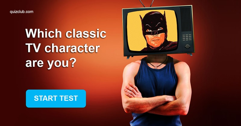 Movies & TV Quiz Test: Which classic TV character are you?