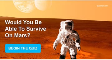 Personality Quiz Test: Would You Be Able To Survive On Mars?