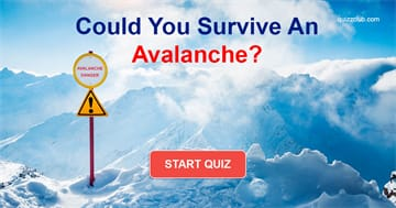 Nature Quiz Test: Could You Survive An Avalanche?