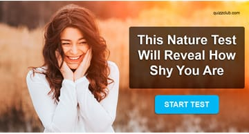 Personality Quiz Test: This Nature Test Will Reveal How Shy You Are