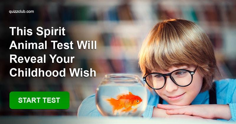 Quiz Test: This Spirit Animal Test Will Reveal Your Childhood Wish