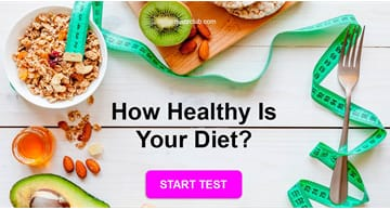 Personality Quiz Test: We Are What We Eat. How Healthy Is Your Diet?