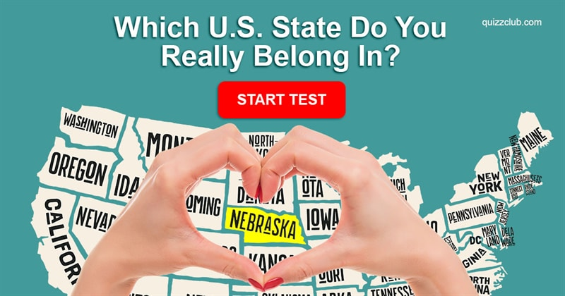 Quiz Test: Which U.S. State Do You Really Belong In?