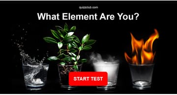 Personality Quiz Test: What Element Are You?