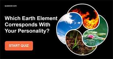 Personality Quiz Test: Which Earth Element Corresponds With Your Personality?