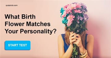 Personality Quiz Test: What Birth Flower Matches Your Personality?