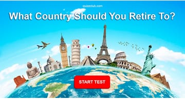 Geography Quiz Test: What Country Should You Retire To?