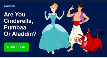 Movies & TV Quiz Test: What Is Your Disney Personality Type?