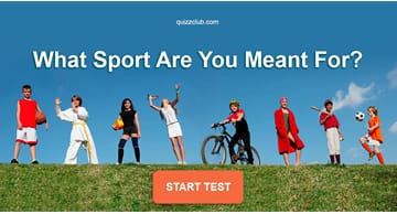 Sport Quiz Test: What Sport Are You Meant For?