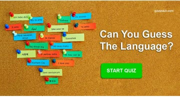 language Quiz Test: Only Linguists Will Be Able To Score 12/15 On This Language Differentiation Test!