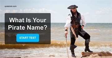 Personality Quiz Test: What Is Your Pirate Name?