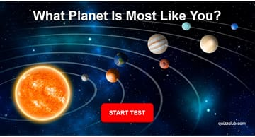 Personality Quiz Test: What Planet In Our Solar System Is Most Like You?