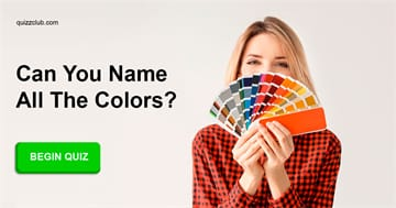 Personality Quiz Test: Can You Name All the Colors?