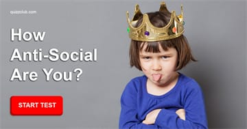 Society Quiz Test: How Anti-Social Are You?