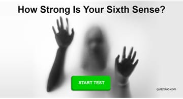 Personality Quiz Test: The Most Scary Test In The World Will Tell Us How Strong Your Sixth Sense Is