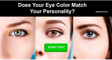 Personality Quiz Test: What Eye Color Should You Really Have?