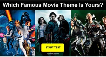 Movies & TV Quiz Test: Which Famous Movie Theme Is Your Life's Anthem?