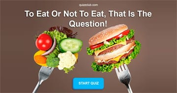 Personality Quiz Test: What You Should Eat Right Now?