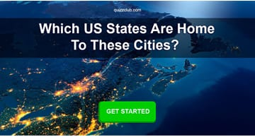 Geography Quiz Test: Which US states are home to these cities?
