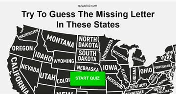Geography Quiz Test: Only 5% of Americans Can Actually Guess The Missing Letter In These States