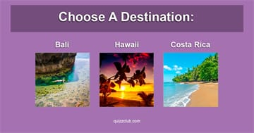Personality Quiz Test: What Do Your Travel Destinations Reveal About You?