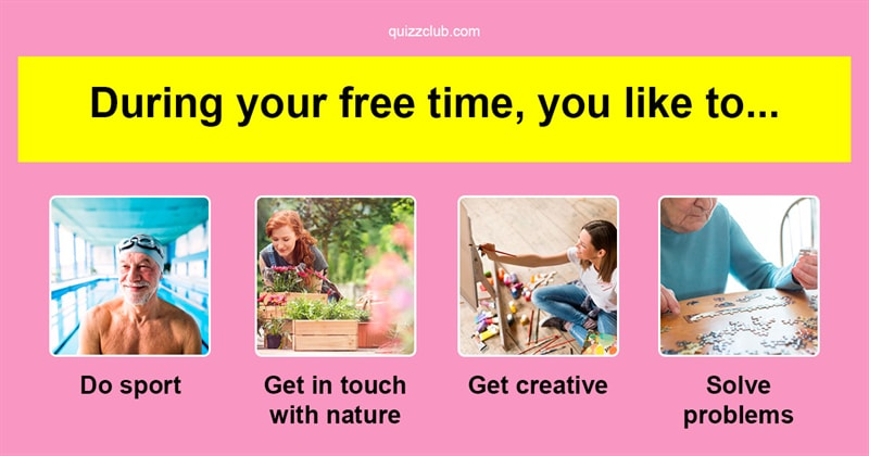 Free Personality Tests and Psychological Quizzes   QuizzClub