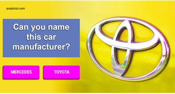 Society Quiz Test: Name The Car Manufacturer By Their Logo