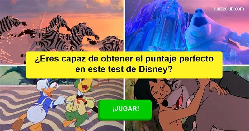 Películas y TV Quiz Test: ¿Eres capaz de obtener el puntaje perfecto en este test de Disney?