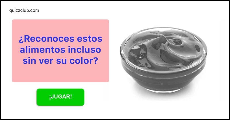 Сiencia Quiz Test: ¿Reconoces estos alimentos incluso sin ver su color?