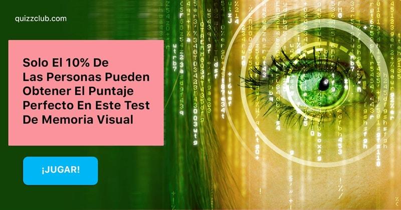 Coeficiente intelectual Quiz Test: Solo El 10% De Las Personas Pueden Obtener El Puntaje Perfecto En Este Test De Memoria Visual