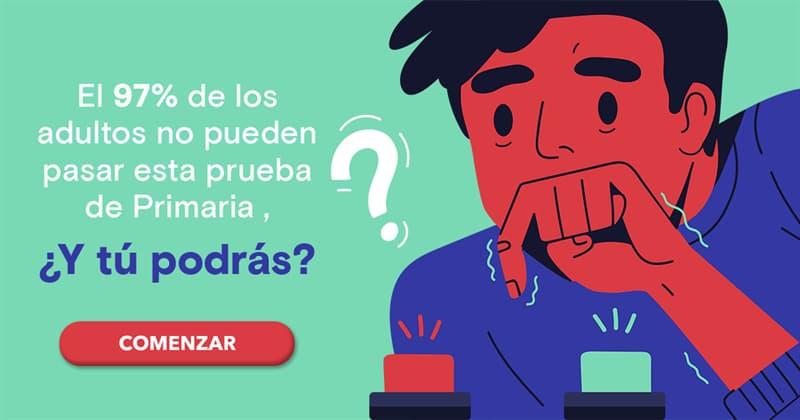 Cultura Quiz Test: El 97% de los adultos no pueden pasar esta prueba de Primaria , ¿Y tú podrás?