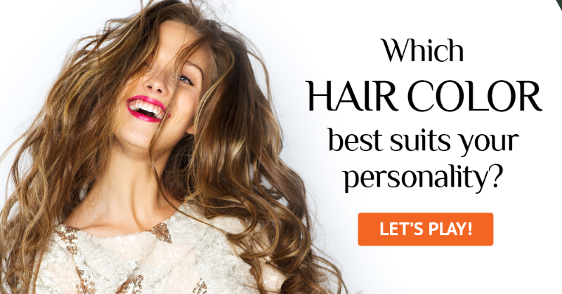 Which Hair Color Best Suits Your Personality Test Quiz Club