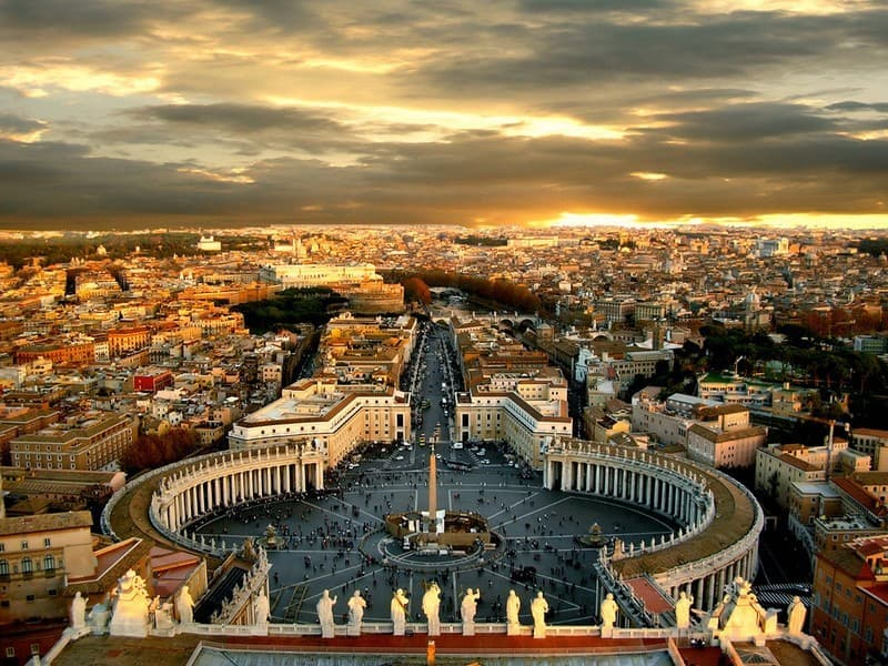 Geography Trivia Question: What is the name of the country inside of Italy?