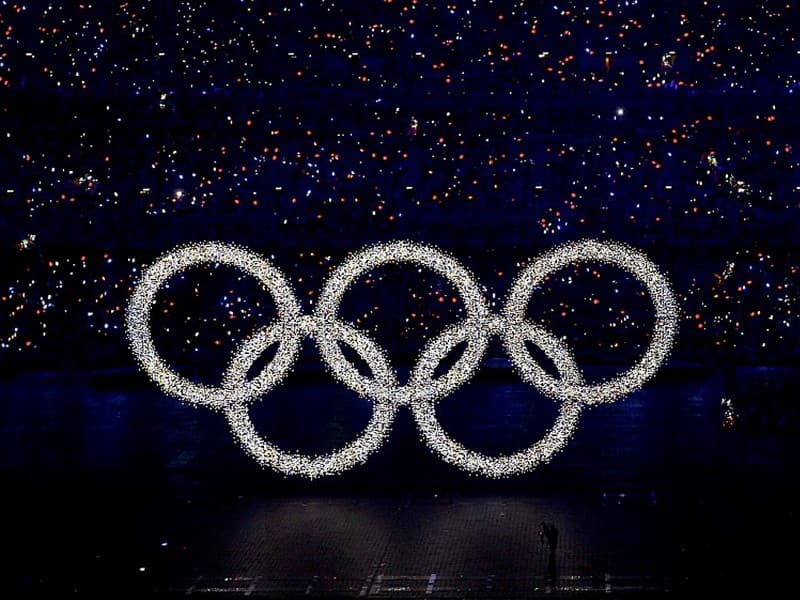Society Trivia Question: Which of these colors are not included in the Olympic rings?