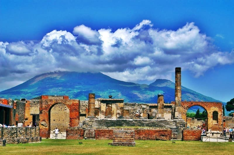History Trivia Question: Which volcano destroyed Pompeii?