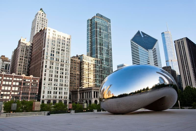 Geography Trivia Question: Chicago is America's