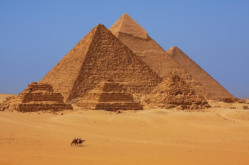 History Trivia Question: When were the Egyptian pyramids built?