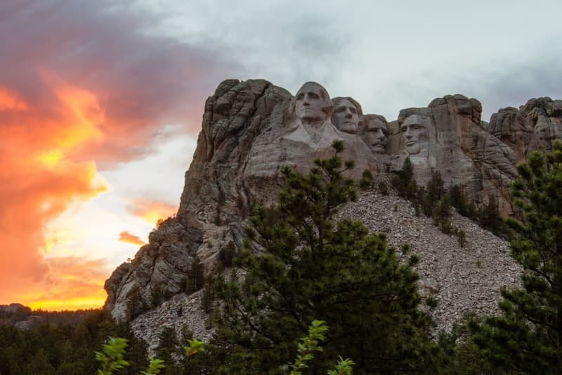 Geography Trivia Question: Where is Mount Rushmore?