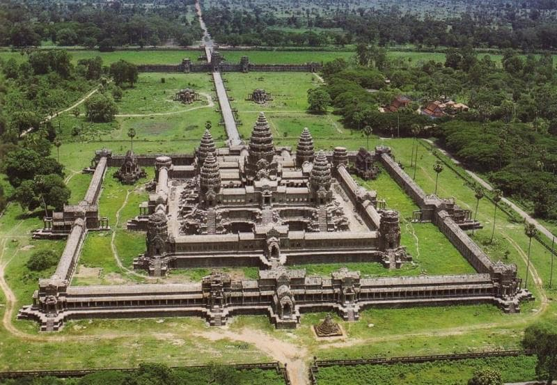 Geography Trivia Question: Where is  Angkor Wat located?