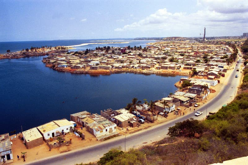 Geography Trivia Question: Which language is the official language in Angola?