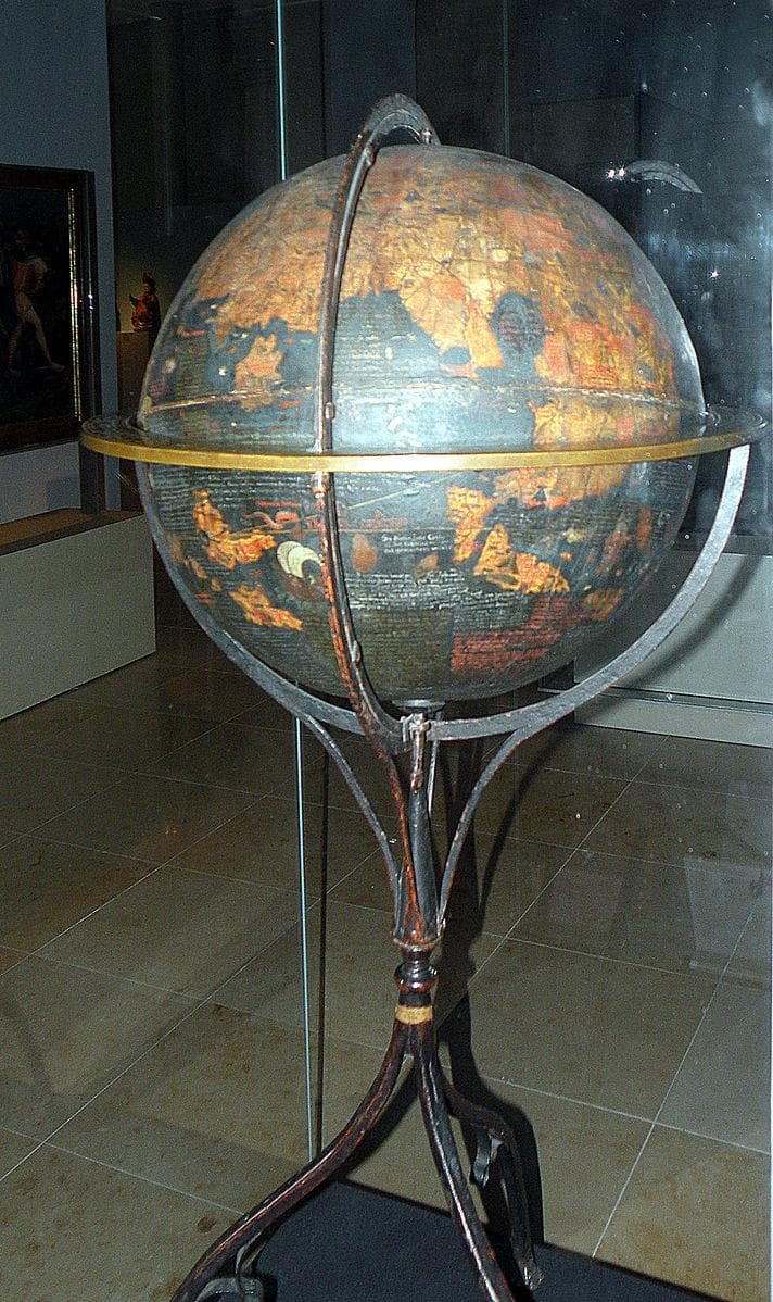 History Trivia Question: Who made the oldest known globe that survived to this day?