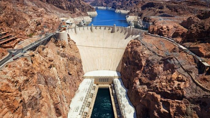 History Trivia Question: Former President Herbert Hoover was not invited to the dedication of the massive Hoover dam.