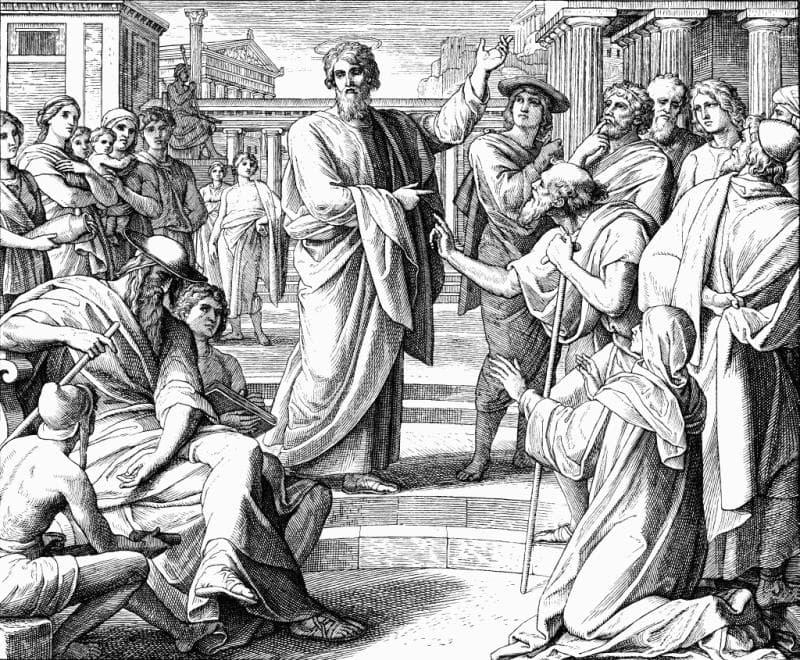 """Культура Вопрос: Как буквально переводится слово """"апостол""""?"""