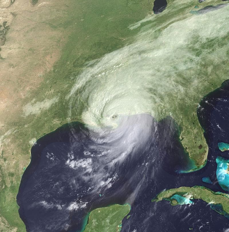 Society Trivia Question: What has been the costliest natural disaster in the U.S.?