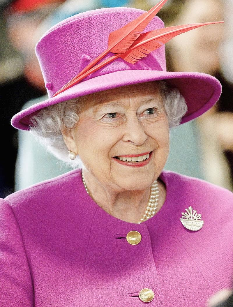 Society Trivia Question: She is instantly recognizable as Queen. But Queen of how many countries?