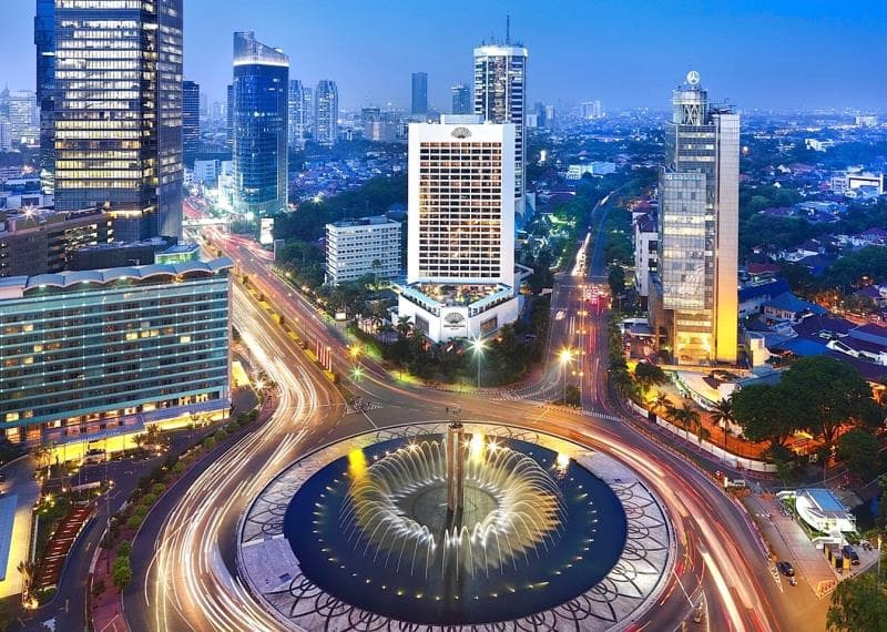 Image result for images of Indonesia  capital